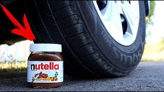 EXPERIMENT: CAR VS  NUTELLA