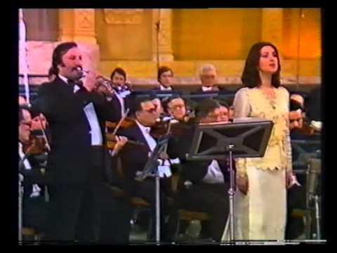 Angela Gheorghiu - Vivaldi: Da due venti il mar turbato - Radio Hall Bucharest 1987