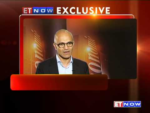 Satya Nadella Speaks About India's Economic Growth