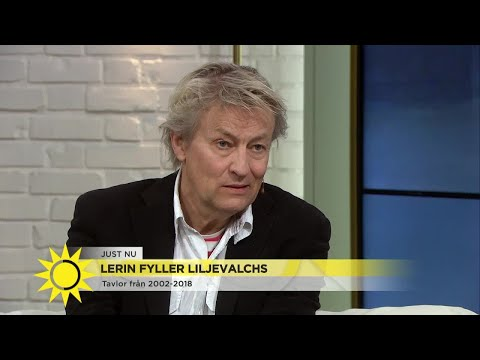 """Lerin på Liljevalchs: """"Tycker om att måla det som inte är så roligt""""  - Nyhetsmorgon (TV4)"""