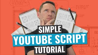 How to Make a GOOD YouTube Video (SIMPLE Video Script Structure!)