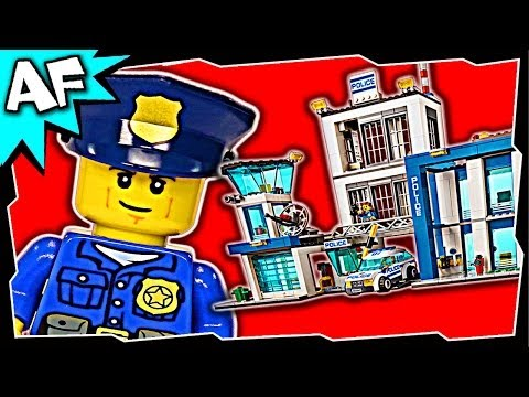 POLICE STATION Lego City Police 60047 Building Set Review