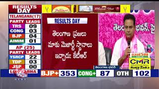 TRS Working President KTR Press Meet Over Lok Sabha Election Results 2019