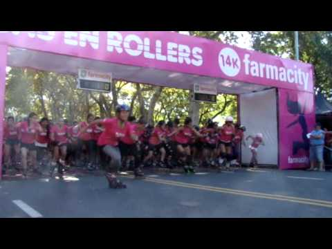 Chicas en Rollers 14K Farmacity 2012