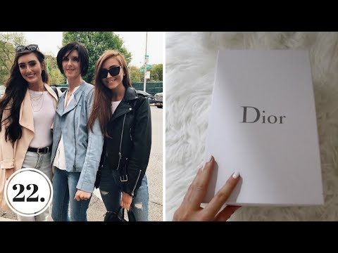 ZARA HAUL, DIOR UNBOXING + MY PARENTS VISIT TO NYC - VLOG 22