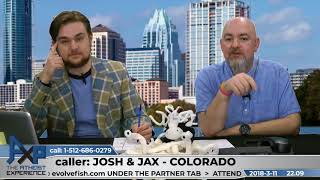Apologetics Students Call in for Extra Credit   Josh and Jax - Colorado   Atheist Experience 22.09