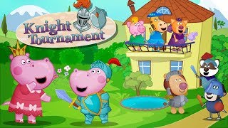 Hippo 🌼 Knight Tournament: Medieval Journey 🌼 Kids Games 🌼 Cartoon game for kids
