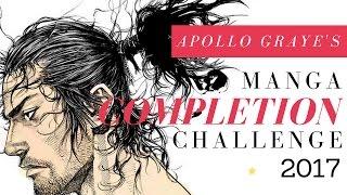 [!!] ? Apollo Graye's Manga Completion Challenge 2017 Announcement...! ?