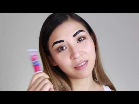 Peel Off Lip & Eyebrow Tattoo Review  Tina Yong