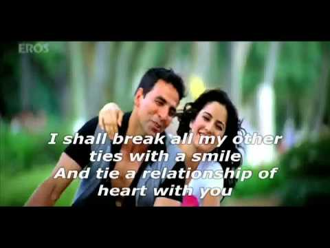 YouTube   U & I  Rishte Naate Full song   De Dana Dan with English...