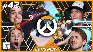OVERWATCH met Don, Milan, Link en Jeremy (en Regilio en LuckyEagle) | Let's Play | LOGS2 #42