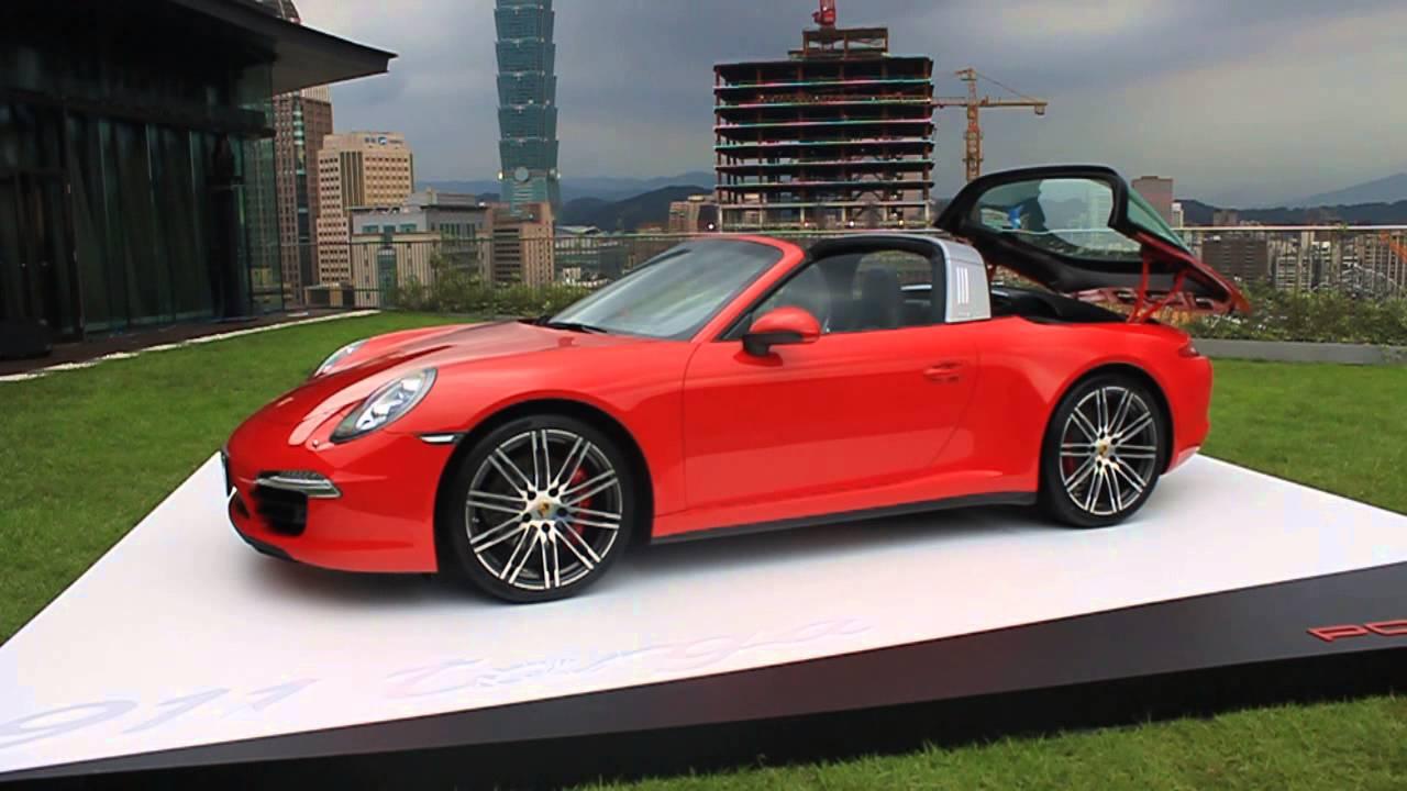 911 Targa Roof 911 Targa Roof Action v2