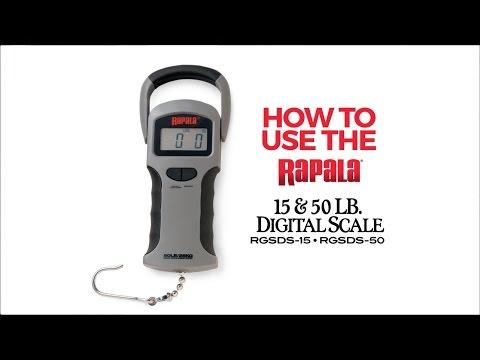 инструкция весов rapala 50lb