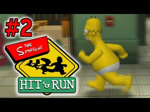 Simpsons Hit & Run: Going Commando! - FACECAM - Ep. 2 (Gameplay/Commentary)