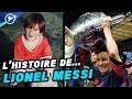 Le fabuleux destin de Messi, du gamin de Rosario à Dieu du foot