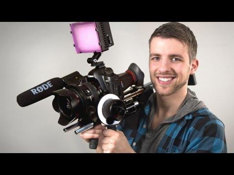 Affordable Film Gear   Slider and Shoulderrig