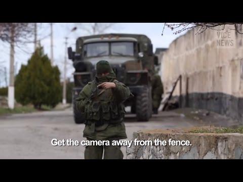 Russia War - Russian army invades Ukraine and occupy Crimea Ukraine