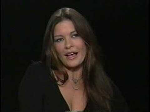 catherine zeta jones talks to charlie rose