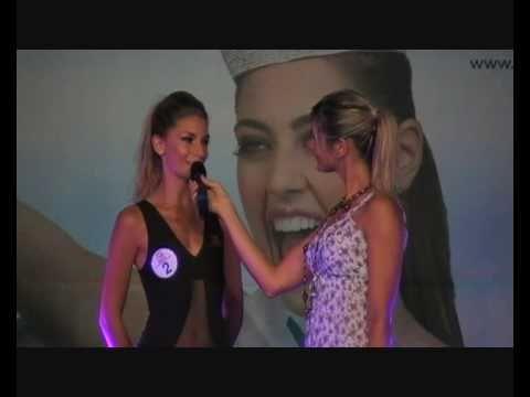 Miss Italia 2010 Selezioni,Miss Wella Liguria,Interviste e Passerella in Body,1.8.2010.HQ