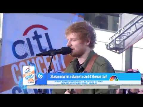 Ed Sheeran - What Do I Know? (Live on Today Show)