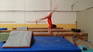 What can I do on Balance Beam? Baby  Gymnasts