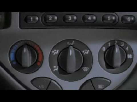 Ford Focus MK1 1998 - Ergonomia / Design / Ergonomics