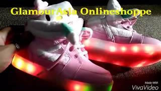 Hello Kitty Led shoes 09167716969