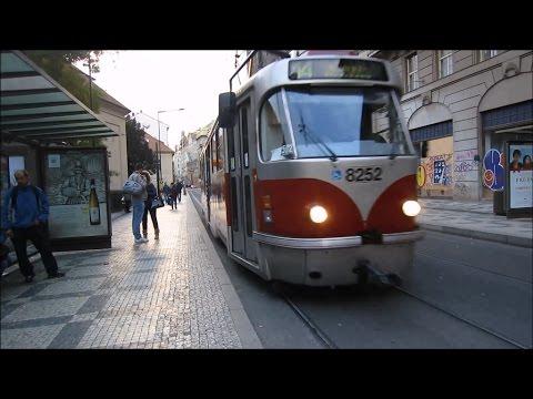 Трамваи Праги, Чехия / Trams at Prague