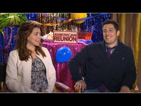 Alyson Hannigan and Jason Biggs on American Reunion Nude Scene and Growing Up With Jim and Michelle