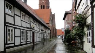 Germany: Nienburg at the Weser