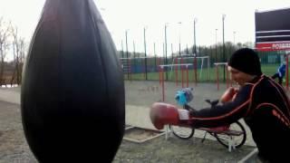 Уличный бокс (тренировка)