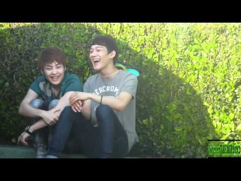 05.19.2012 CHEN & XIUMIN COUPLE @ Disney Land