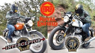 Royal Enfield Interceptor 650 y Continental GT 650 | Prueba | Toma de contacto