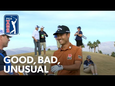 One-armed amateur ace, a two-story bunker and Rickie the undercover caddie