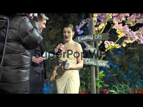 Rachel Weisz at 'Oz The Great and Powerful' European Prem...