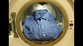 Experiment - Shirts- in a Washing Machine - Centrifuge