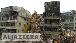 Multiple building collapses in China kill at least 8