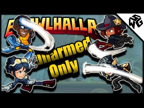Unarmed Only Experimental 1v1's! - Brawlhalla Gameplay :: Title