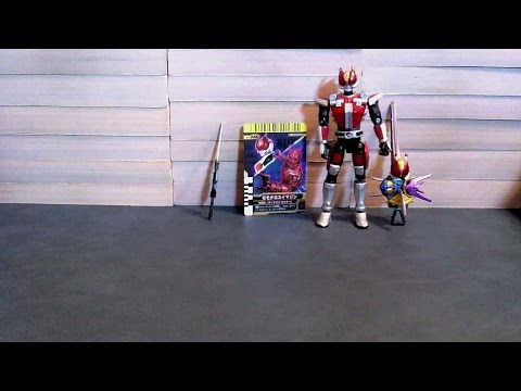 Kamen Rider Decade Final Form Ride Series 08 Den-O Momotaros Review