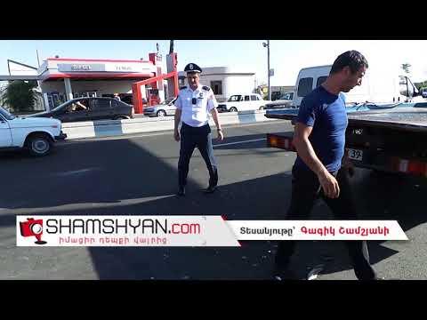 Խոշոր ավտովթար Երևանում. Իսակովի պողոտայում Hyundai-ը բախվել է կայանված Opel-ին