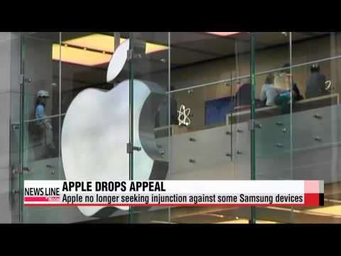 Apple drops bid to ban select Samsung devices in U.S.