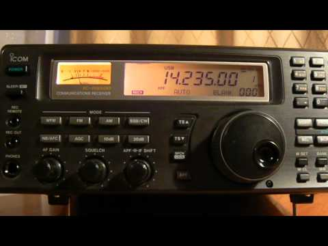 14235khz,Ham Radio,KH0XH(Saipan,Northern Mariana Islands, MP) 15-35UTC.