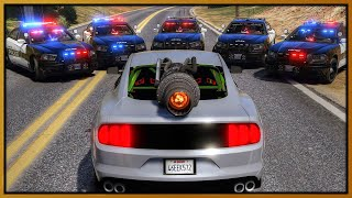 GTA 5 Roleplay - cops get MAD Trolling in Jet Engine Mustang | RedlineRP #982