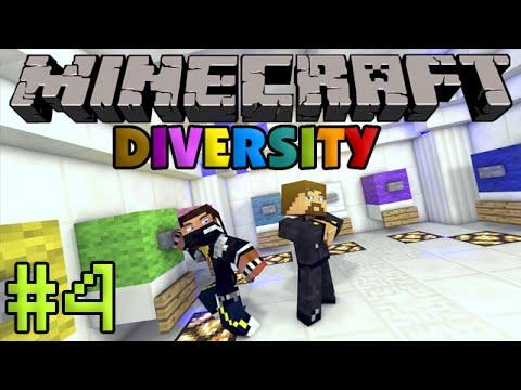 Minecraft Diversity #4 - Арена с монстрами!