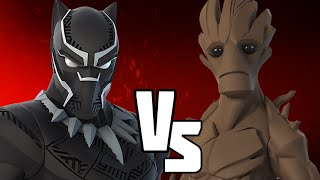 Black Panther VS Groot - Disney infinity Versus