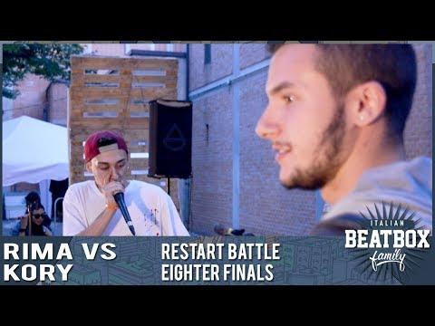 Rima Vs Kory  RestArt Battle  Imola  Eighter Finals