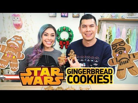 Star Wars Gingerbread Men - Quake N Bake!!