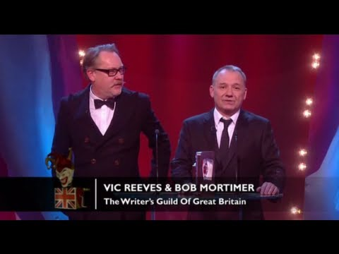 The Writer's Guild of Great Britain: Vic Reeves & Bob Mortimer | British Comedy Awards 2012