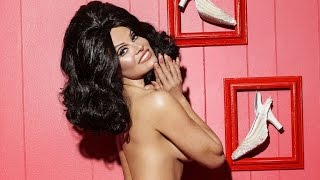 Pamela Anderson Poses Nude as a Brunette in Latest Super Sexy 'NSFW' Photoshoot