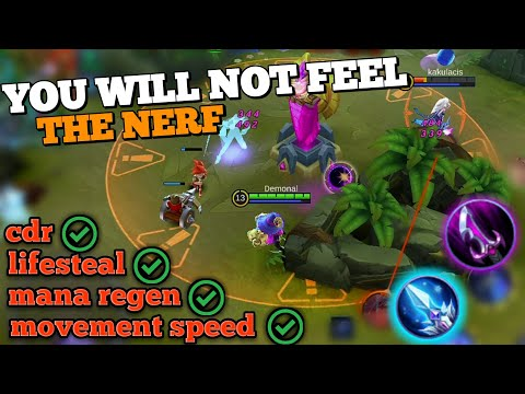 AFTER NERF BUILD FOR CYCLOPS | BEST BUILD AGAINST THE NERF | MOBILE LEGENDS